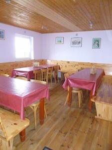 Une autre salle pour ceux qui préfèrent s'isoler.